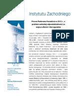D. Wybranowski, Proces Radovana Karadžicia w 2012 r., a problem serbskiej odpowiedzialności za wojnę w Bośni i Hercegowinie