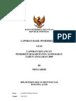 080 LKPD Kab Aceh Barat 2009