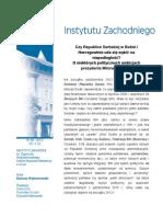 D. Wybranowski, Czy Republice Serbskiej w Bośni i Hercegowinie uda się wybić na niepodległość? O niektórych politycznych ambicjach prezydenta Milorada Dodika
