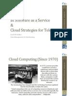 BI SaaS & Cloud Strategies for Telcos