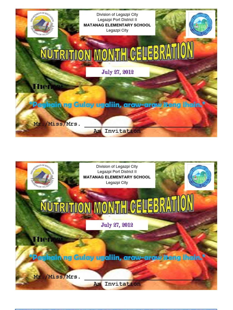 Nutrition month programcx thecheapjerseys Images