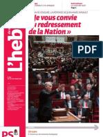Hebdo n°687 - Jean-Marc Ayrault