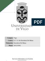 Plan de Estudios de Minas