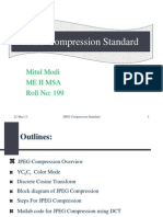 JPEG Compression Standard