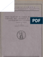 N. Iorga - Trei Calatori in Tarile Romane (Caromni, Rey, Kunisch) (1925)