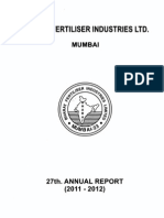 Bharat Fertiliser Inds Limited 2012