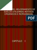 ESTUDIO DEL MEJORAMIENTO DE SUELOS UTILIZANDO ADITIVOS ORGANICOS.ppt