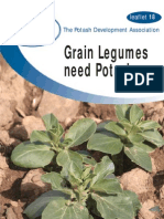 Grain Legumes Need Potash