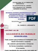 SENTENCIAS EMANADAS DEL TRIBUNAL SUPREMO DE JUSTICIA