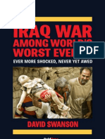 """Iraq War Among World's Worst Events"", David Swanson"