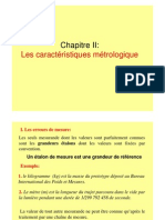 ChapII Mesure Et Instrumentation ( Partie 1) (1)