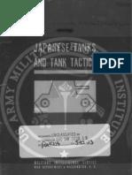 Japanese Tanks and Tank Tactics