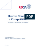 How To Conduct a Golf Competition