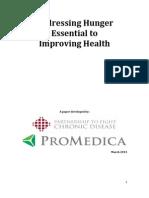Hunger & Health White Paper