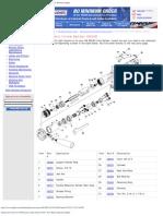 Replacement Parts for 3M Pneumatic Inline Sander 28338 Parts