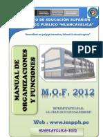 Manual de Organizacion y Funciones 2012 Final