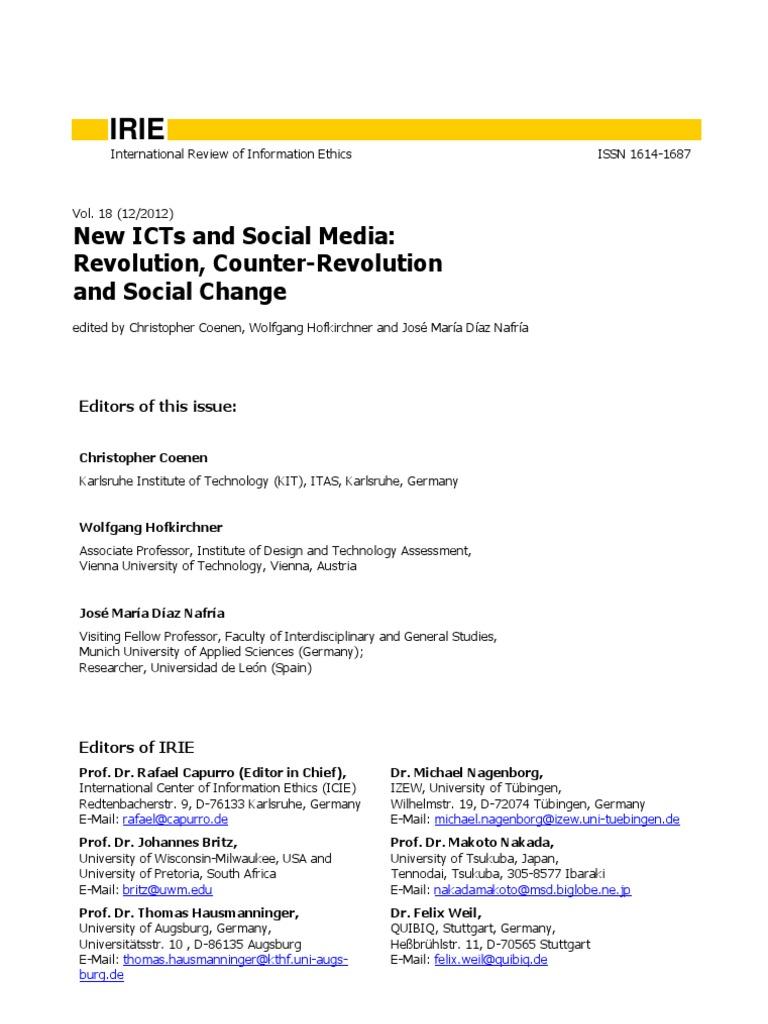New icts and social media revolution counter revolution and social new icts and social media revolution counter revolution and social change human rights social media urtaz Gallery
