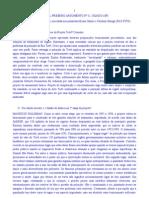 Jornal Primeiro Argumento, nº 11, Osasco (SP). Transcrição de entrevista de Maurício Waldman (USP) concedida a Bruno Santos e Carolina Sônego (FAC-FITO)