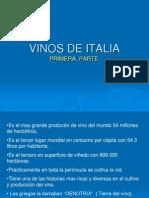 Vinos de Italia 1ra Parte