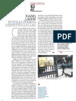 Il rigore ed il caos (anche) nelle biblioteche italiane, di Valerio Magrelli - Il Venerdì 22.03.2013
