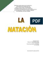 ANÁLISIS DE UN ESTILO de NATACION