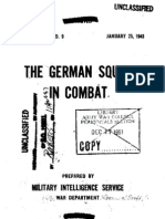 The German Squad in Combat