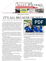 Valley Patriot 9th Anniversary BASH Program