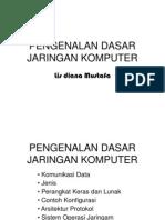 Pengenalandasarjaringan(Osi+TCP)