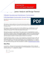 5 Frequency Response Analysis and Design Tutorial