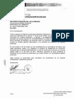 Oficio al MINAM reglamento protección ambiental