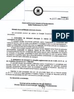 Adresa ANP-DEA 2645521.03.2013 referitoare la decontarea cheluielilor de transport efectuate în timpul concediului de odihnă