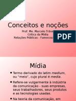 Conceitos e noções - Crítica de Mídia