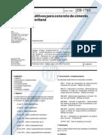 NBR 11768 - 1992 - Aditivos para concreto de cimento portland.pdf