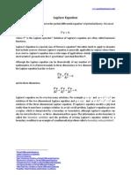 Laplace Equation