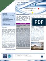 ESHA Newsletter 2012 Hidroenergia