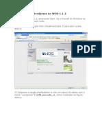 Instalando o Wordpress no WOS
