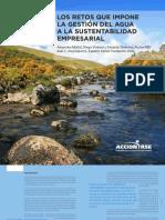 Gestion El Agua y Sustentabilidad