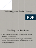 Technology and Social Change