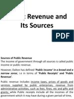 Public Revenue BBM