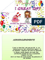 Cuento en Ingles the Great Gift Autora Sandra Rayo