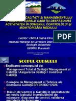 Asigurarea Calitatii Managementul in Laboratoare Chim Liliana Cruceru ECOIND