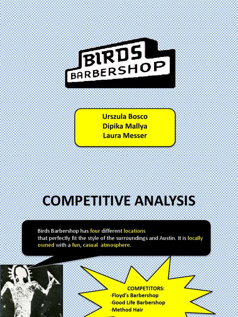 Birds Barbershop Target Audience Brand