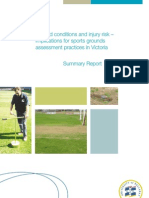 Ground Conditions and Injury Risk-Summary Report