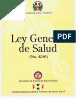 Ley General de Salud 42-01