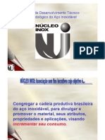 AUT190 - Núcleo de desenvolvimento técnico mercadológico do aço inoxidável. Aço inox - Aplicações na Arquitetura