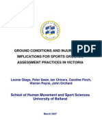 Ground Conditions and Injury Risk - Full Report