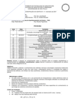 AUT190 - Programa