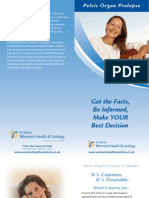 Prolift Patient Brochure
