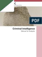 Criminal Intelligence for Analysts