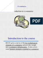 Introduction e Commerce